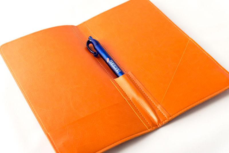 Папки-счет из кожзаменителя для ресторана