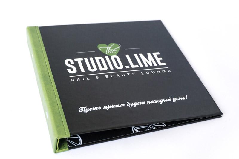 Папки для прайса салона LimeStudio