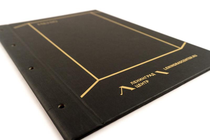Дизайн и изготовление папок для меню