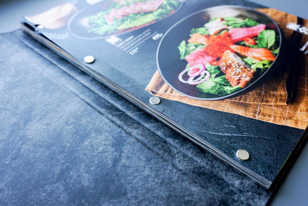 Папки меню для ресторанов 7