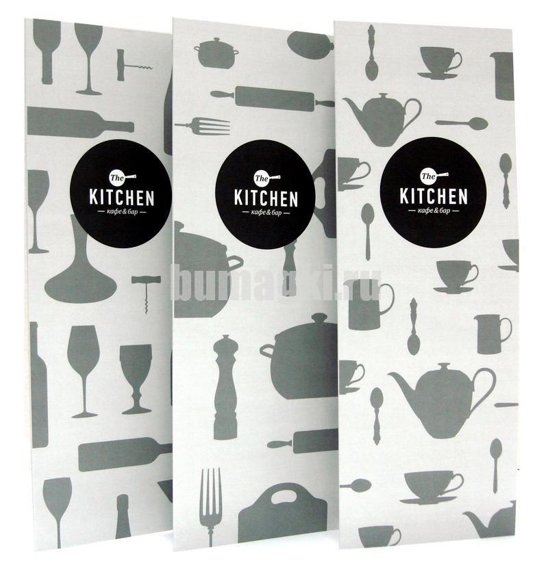 Дизайн и изготовление буклетов меню