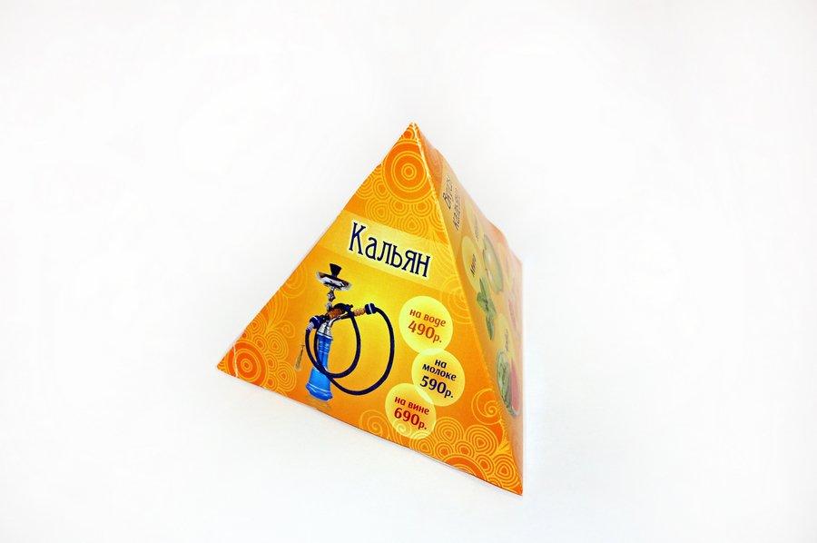Дизайн и изготовление пирамидок из картона