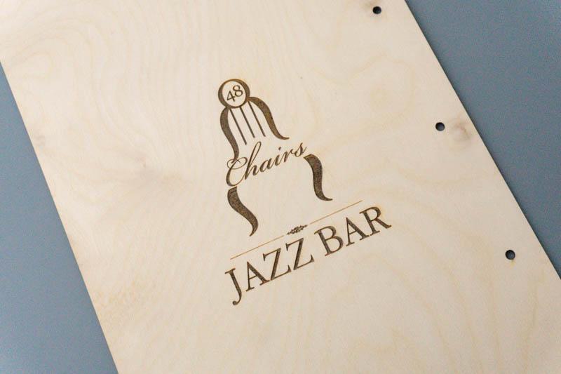 Планшеты из фанеры для меню джаз-бара
